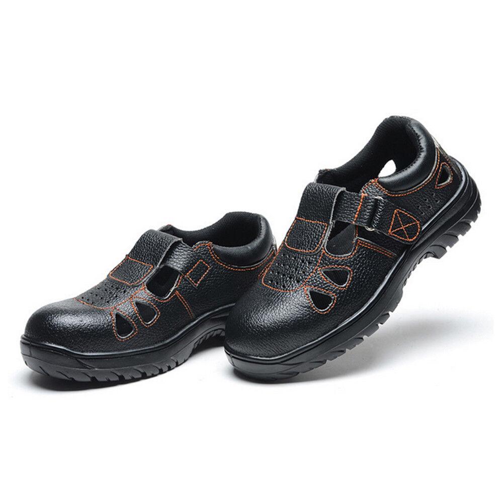 men 'Sandali Estivi shoes Antinfortunistiche Smash-Proof Penetration-Resistant
