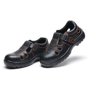MENS' Summer Sandal Safety Shoes Smash-proof Penetration-re<wbr/>sistant 041