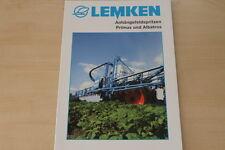158102) Lemken Anhängerfeldspritze Albatros Primus Prospekt 03/2007