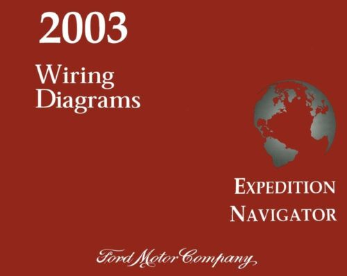 2003 Ford Expedition Lincoln Navigator Wiring Diagrams Schematics