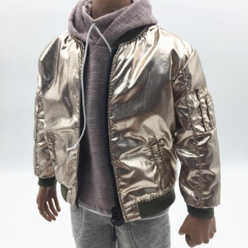 1/6 Scale Golden Fashion Men Jacket Coat for 12'' Hot Toys Male Figures Doll