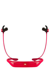 NEW-JBL-Reflect-Response-Bluetooth-In-Ear-Headphones-Red