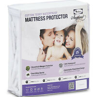 deep pocket mattress protector waterproof breathable cool cover - Breathable Mattress
