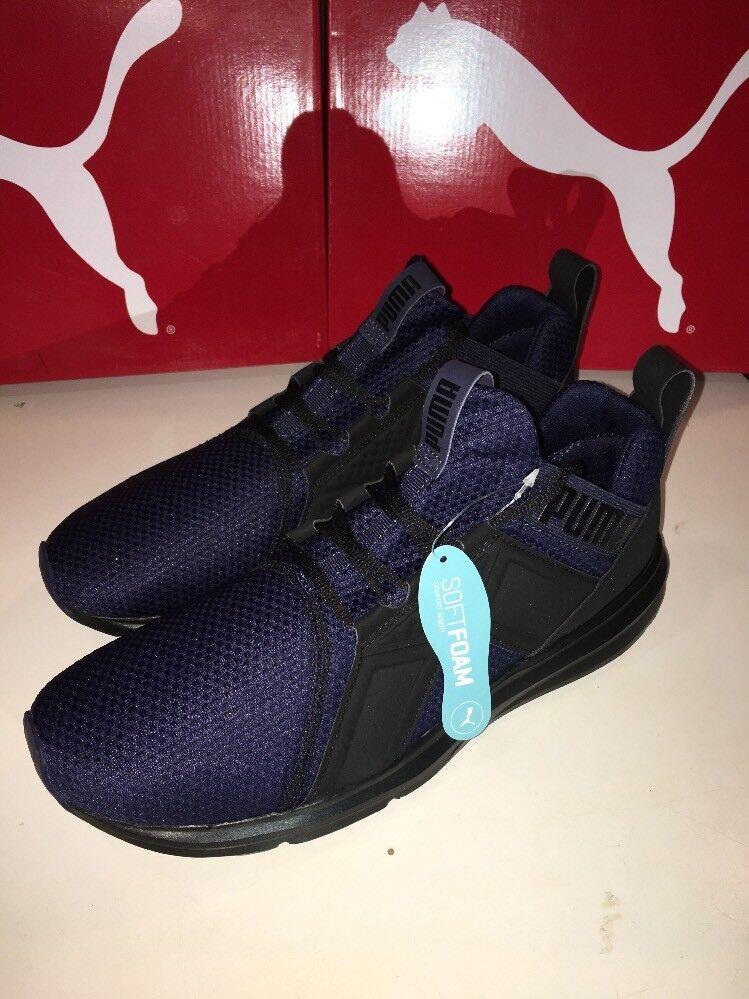 PUMA Enzo Tejido softfoam Chaquetón Negro Para Hombre Zapato