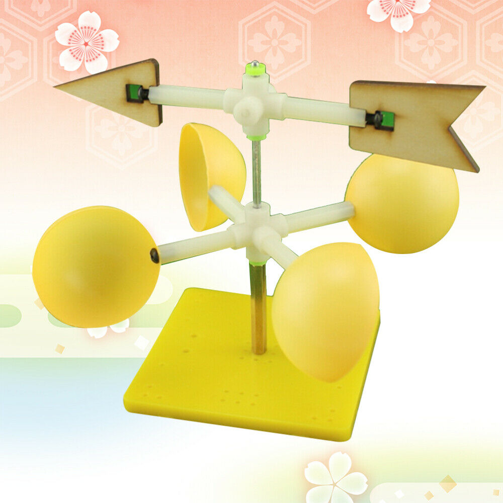 Wind Vane Model Scientific DIY Assembly Wind Indicator Educational Toy for Kids