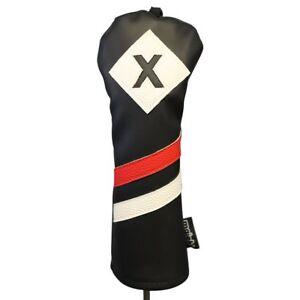 Majek-Retro-Golf-x-Bois-De-Fairway-voile-noir-rouge-blanc-vintage-cuir-style