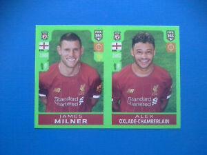 Figurine-Panini-Fifa-365-2019-20-2020-n-33-Milner-Oxlade-Chamberlain-Liverpool