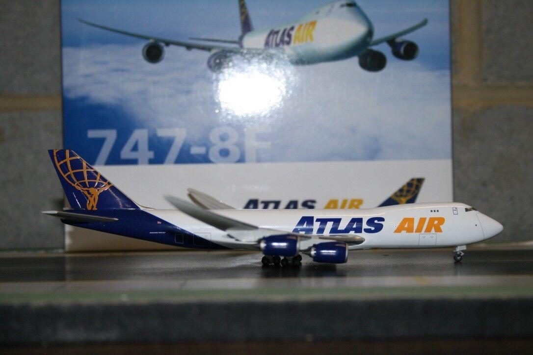 Hogan 1 400 Atlas Air  Boeing 747-8F  Official  (HG8881) Die-Cast Model Plane  pas cher en haute qualité