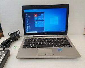 """HP Elitebook 2560P 12.5"""" HD Laptop Core i5-2520M 8GB RAM 500GB SATA HDD Win 10"""