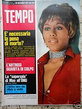 tempo 1971 cover carla brait artrosi riviste italian magazine rare magazines xxx