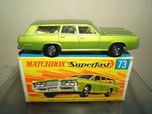 MATCHBOX SUPERFAST MODEL No.73c    MERCURY COMMUTER   GREEN VERSION      VN  MIB