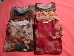 42 Fille 40 Bel Tres Lot Tee Taille De Tous Neufs Etat Shirt Ou 6 Femme wSAOq6pE