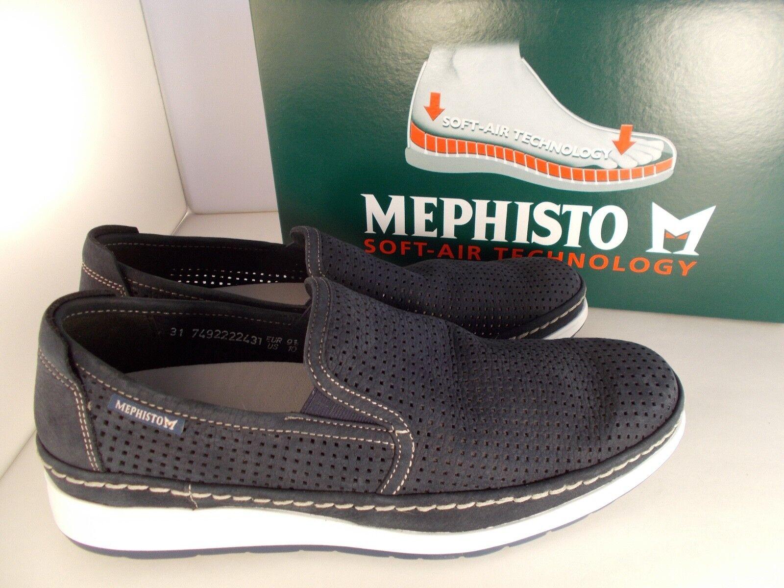 62d60d45fa Mephisto Hadrian Perf Navy Sportbuck 1945 Soft-air Men's Shoes Sz 10 for  sale online   eBay