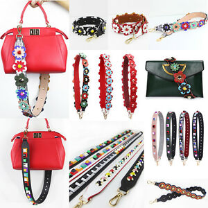 HandBag-Straps-Replacement-Leather-Colorful-Flower-Rivet-for-Bucket-Bag-Clutch