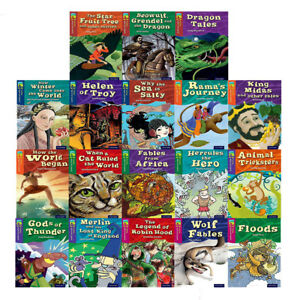 Oxford-Reading-Tree-TreeTops-Myths-and-Legends-Series-18-Books-Collection-Set-BB