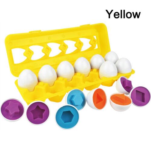 24tlg Baby Kinder Simulation Eier Spielzeug Lernspielzeug Lernen Entwicklung DE