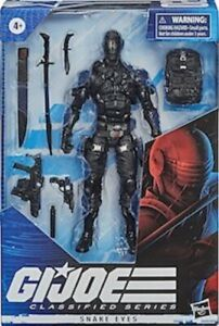 Snake Eyes G.I. Joe Classified Series 6-Inch Action Figure Ready to Ship