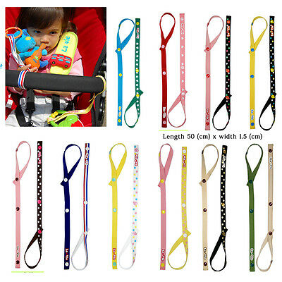 Baby Safety Seats Toys Fixed Toys Stroller Toys Pacifier Chain Tether Strap