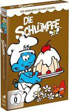 DIE SCHLÜMPFE, Staffel 6 (6 DVDs) NEU+OVP