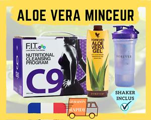 Aloe-Vera-Programme-Minceur-Perte-de-Poids-Brule-Graisse-Detox-C9-Forever-FR