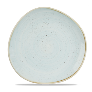 Churchill STONECAST Organic Round Plate Duck Egg Blue Teller rund 28,6 cm blau