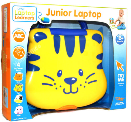 Baby/'s Musical Play and Learn Laptop Baby Toy Tiger Themed 12 Months Plus
