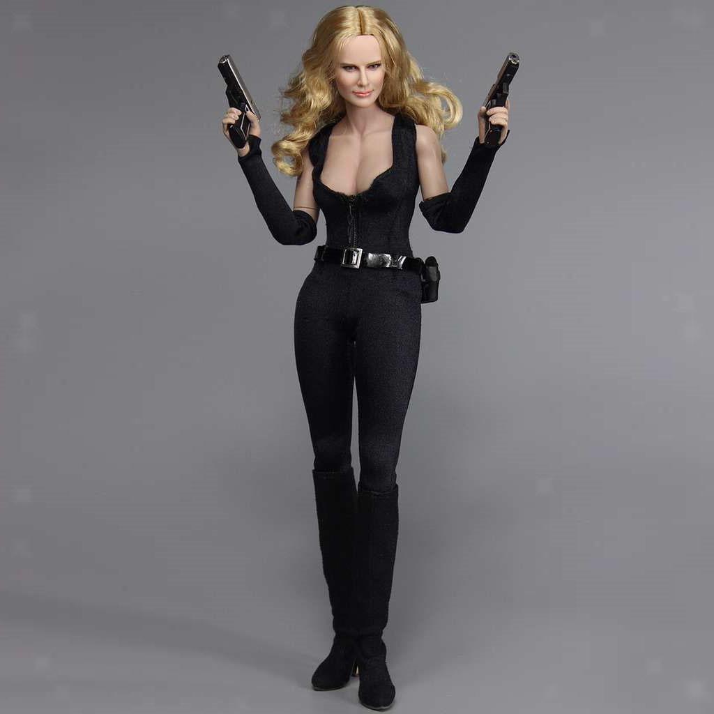 1 6 Escala Agente Femenino 12 PULGADAS Figura de Acción Juguete Modelo