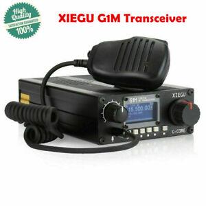 Xiegu G1m 0 5 30mhz Qrp Hf Transceiver Sdr Ssb Cw Am Amateur Ham Radio Fast Top Ebay