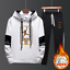 NEW-Mens-Michael-Air-23-Jordan-Tracksuit-Hoodie-and-Pants-Men-Sportswear thumbnail 6