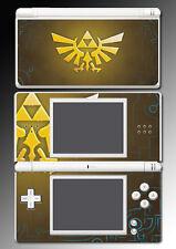 Legend of Zelda Link Hyrule Triforce Video Game Skin Cover Nintendo DS Lite