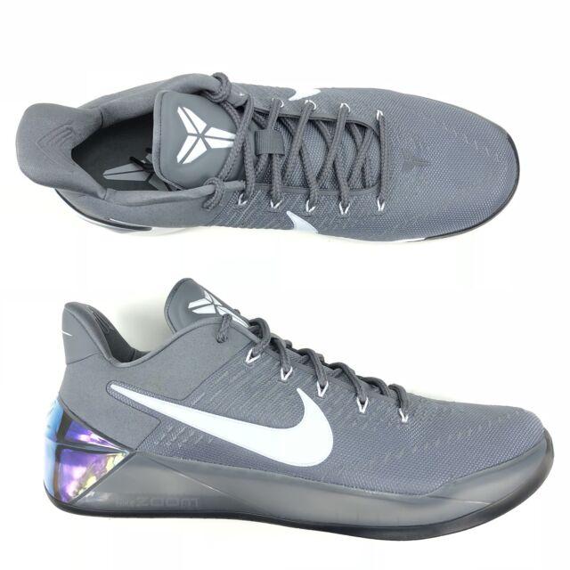 new style 6624e b88aa Nike Kobe A.D. Ruthless Precision AD Premium Cool Grey Black 852425-010  Size 17