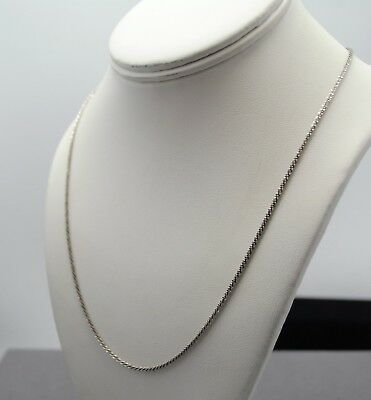 Men/'s or Ladies 28.5 grams STERLING SILVER 5mm SOLID ROPE CHAIN 24 inch