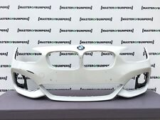 BMW 1 SERIES M SPORT F20 F21 2016-2018 FRONT BUMPER IN WHITE GENUINE [B890]