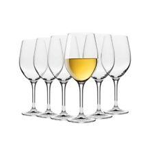 Krosno Vinoteca Set of 6 x 370ml Sauvignon Blanc Wine Glasses Brand New