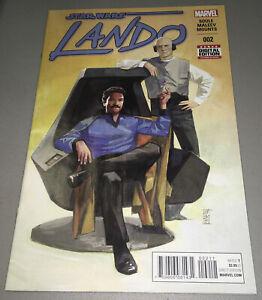 STAR WARS: LANDO #2 Marvels 1st APP Appearance CHANATH CHA 1st Print 2015