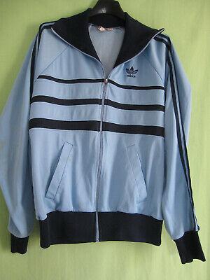Détails sur Veste Adidas Ventex Made in France Bleu 80'S Vintage Jacket 180 L