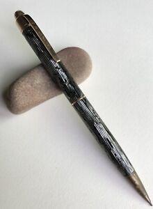 Vintage-Eversharp-Skyline-Mechanical-Pencil-Working-EDC-Repeater-Gold-Trim-USA