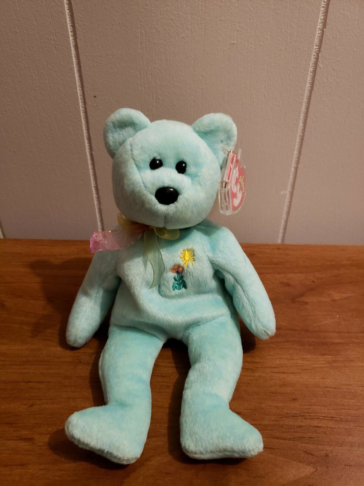 Ty Inc - - - RARE Beanie Baby ARIEL bear   EXCELLENT CONDITION 9d39e7