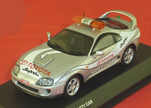 Kyosho 1:43 Nissan Supra Safety Car argent 03704PC
