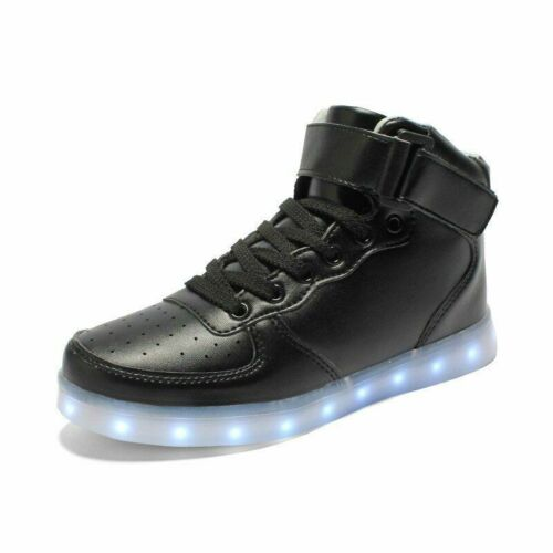 Taille 25-44 USB DEL Chaussures lumineux Baskets KIDS Lights Up Chaussures