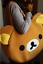 rilakkuma brown bear huging plush Cute Shoulder Bag Plush Handbag Purse
