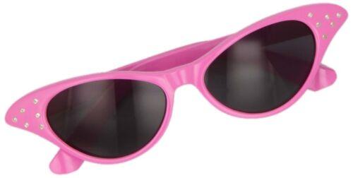Ladies 50s glasses 60s Rock Roll Retro Grease 50s Glasses Fancy Dress