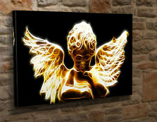 "Scatola TELA art print PICTURE Baby Angel Cherub Gotico Giclee b210 16""x24"""