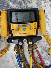 Fieldpiecedigital Manifold Gauge Set Sman460 Extra Long Hoses 4 Port Tools Air