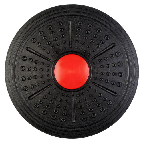"16/"" Wobble Balance Board Stability Trainer Core Fitness Strength Rocker Disc"