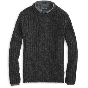 c11e123eab7740 Image is loading Peter-Millar-Collection-Cashmere-Sweater -Veneto-Grey-Chunky-