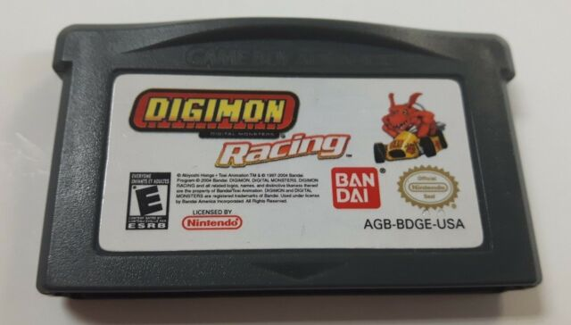 Digimon Racing (Nintendo Game Boy Advance, 2004) Cartridge Only Tested Working