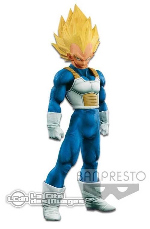 Dragon Ball Z Stars DBZ Super Master Stars Z Piece Vegeta Brush Statue Banpresto 30cm e8a2d7