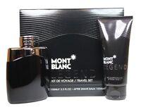 Mont Blanc Legend 3.3 Oz Edt Spray Men's Cologne + After Shave Balm Set on sale