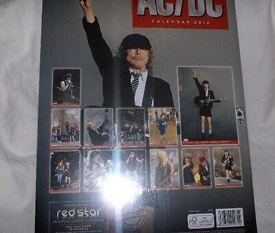 Ac/dc Neu,ovp A3 Kalender 2016